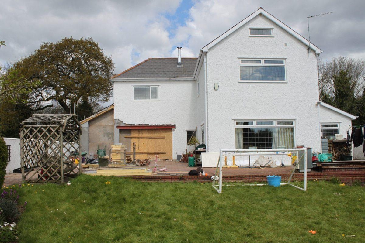 Garden Design Wales - Before