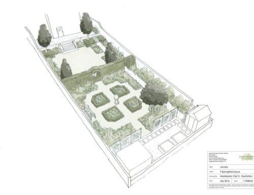 Lansdown garden, Bath